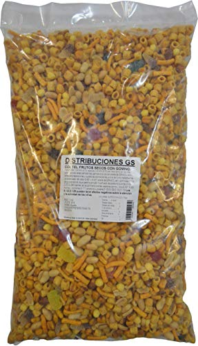 Coctel Frutos Secos Con Gominola 3 Kg.