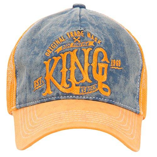 King Kerosin - Casquette de Baseball - Homme Orange Orange taille unique