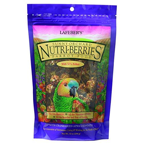 Lafeber Gourmet Sunny Orchard nutri-Berries para Bolsa de 10oz, diseño de Loros
