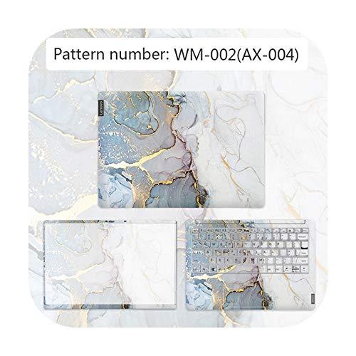 Cubierta de textura avanzada para portátil Pegatina impermeable para Lenovo G40 80/FLEX 3 1570/YOGA 710/etc-WM-002-IDEAPAD 300 15ISK