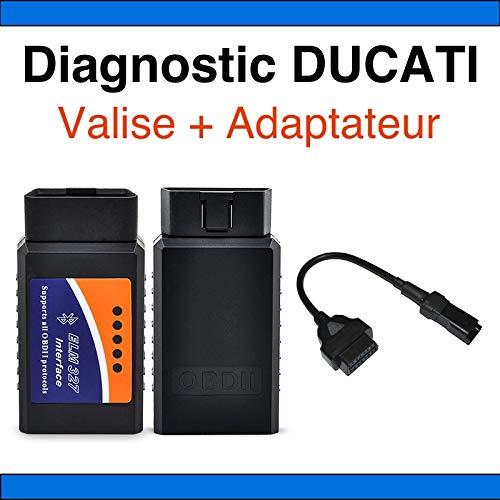 MISTER DIAGNOSTIC Interface Diag Motorrad Ducati Multistrada + Adapter Ducati – Tunecu Tune ECU