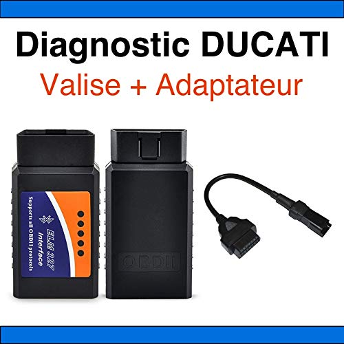 MISTER DIAGNOSTIC Interface Diag Motorrad Ducati Multistrada + Adapter Ducati – Tunecu Tune ECU