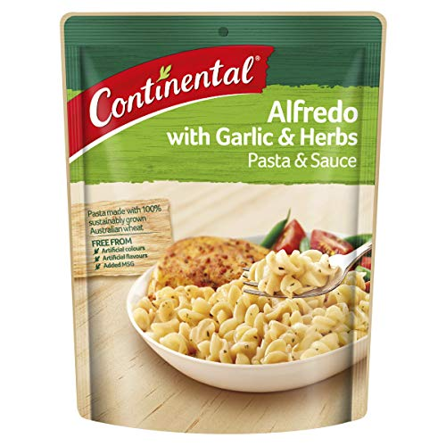 CONTINENTAL Pasta & Sauce (Side Dish)  Alfredo 85g
