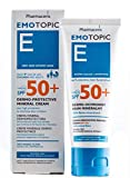 Eczema & Dry Skin Moisturizer, Mineral Sunscreen SPF 50+, Newborns to Adults, Face & Body Cream, by Pharmaceris, 75ml