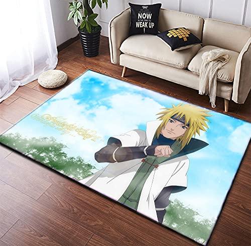 Tapete para ambientes externos Anime Tapete Tapete para meninos, sala de estar, quarto, tapetes antiderrapantes para decoração de tapete 122 x 182 cm-A_61 x 16 {60 x 40 cm}