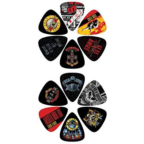 Perri\'s Leathers LP12-GNR1 Picks/Gitarrenplektren Guns N Roses (12 Stück)