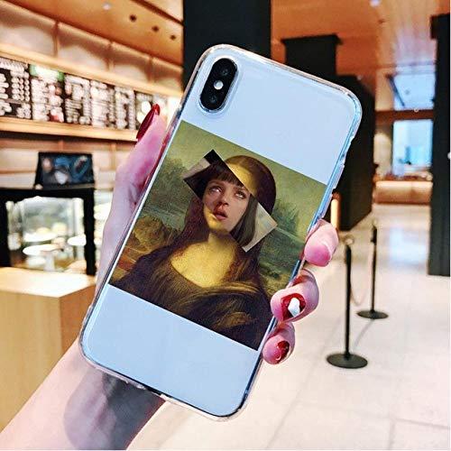 MINILZY Creación deFunda de teléfono Suave para iPhone 11 12 Pro MAX SE 6 6s 7 8 Plus X XR XSCubierta de líneasMAX, T23348, para iPhone XS