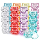 40 Pieces Cosmetic Containers, BEAHOT 5g/5ml Diamond Shape Empty...