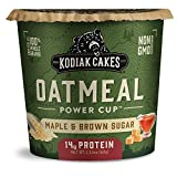 Kodiak Cakes Instant Protein Maple & Brown Sugar Oatmeal in a Cup, 2.12oz (Pack of 12)