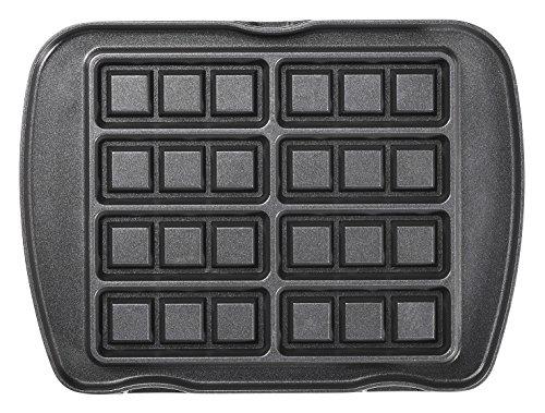 lagrange Jeu de plaque Mini-gaufres pour Gaufrier Premium Noir