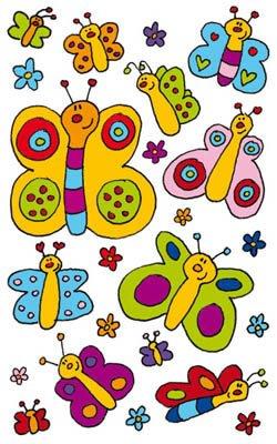 BSB-Obpacher GmbH Sticker Schmetterlinge - 3 Bogen