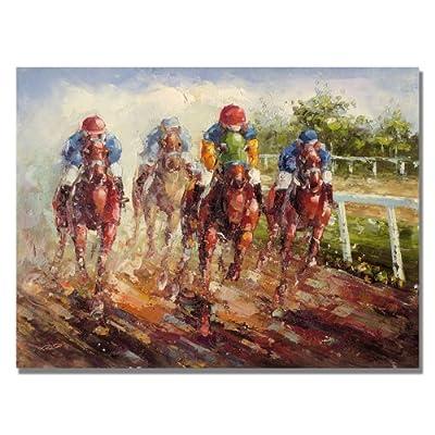 Trademark Fine Art Kentucky Derby by Master's Art Canvas Wall Art