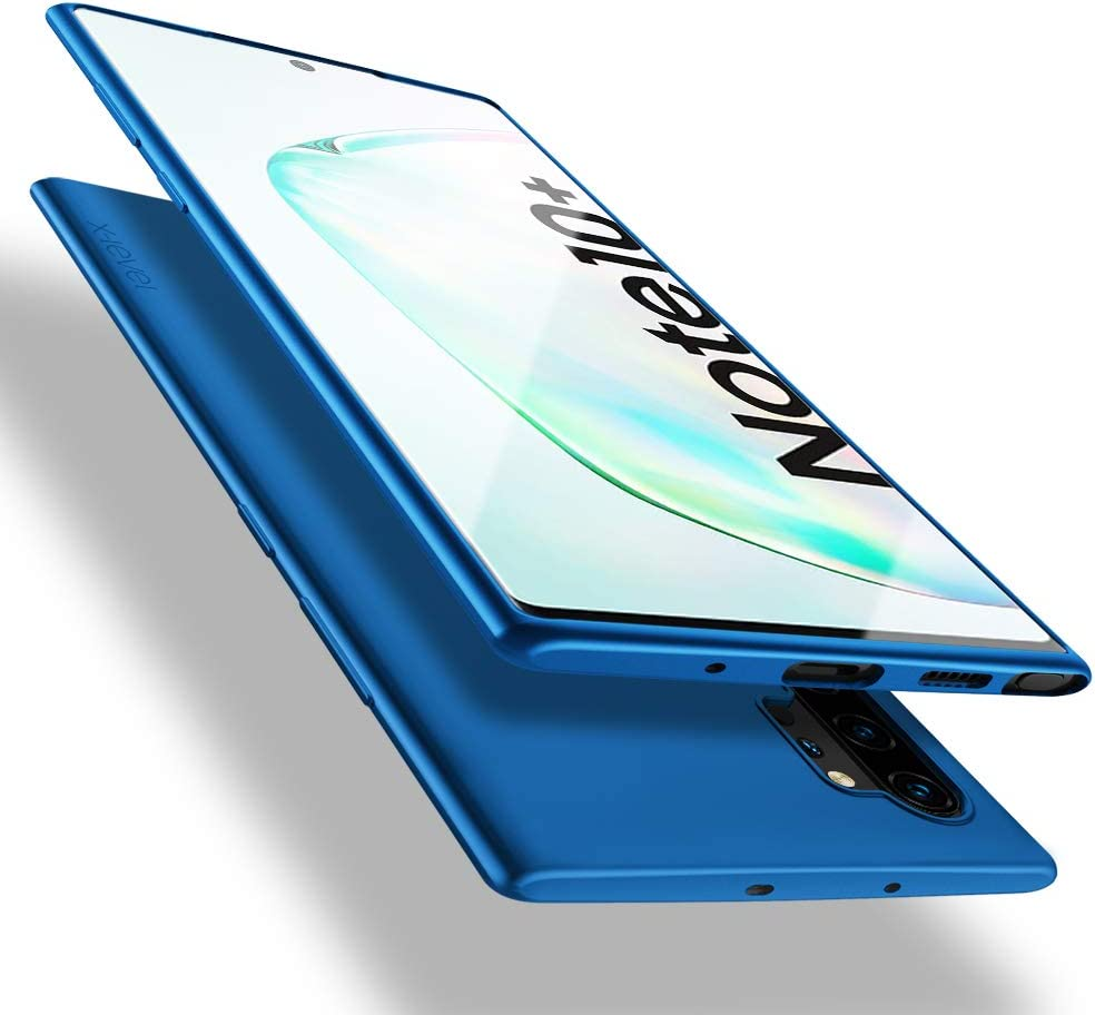 X-level Samsung Note 10 Plus/Note 10 Plus 5G Case, Slim Fit Soft TPU Ultra Thin Note 10 Plus Mobile Phone Cover Matte Finish Coating Grip Phone Case for Women Compatible Samsung Note 10 Plus 5G