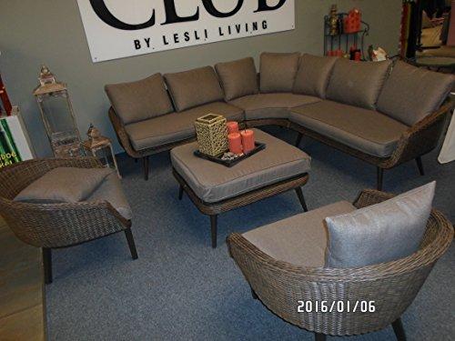 Lounge hoekbank set vinyl 3 sofas 1 tafel hoogwaardig exclusief