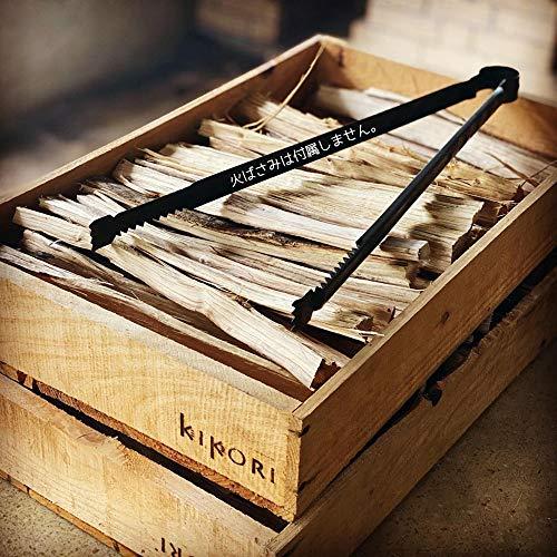 薪 約28cm 小割り 細割り 焚き付け用 広葉樹 乾燥品 兵庫県産 神鍋マキストーブ kikori (2箱)
