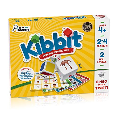 Kibbit - Bingo Style Game Targeting Descriptive Language, Sentence Structure, and Ability to Follow Multi-Component Directions