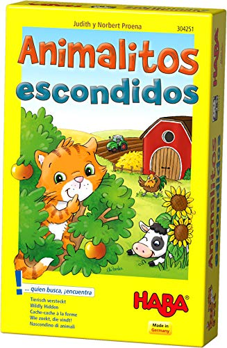 HABA- Juego de Mesa, Animalitos Escondidos, Multicolor (Habermass H304251)