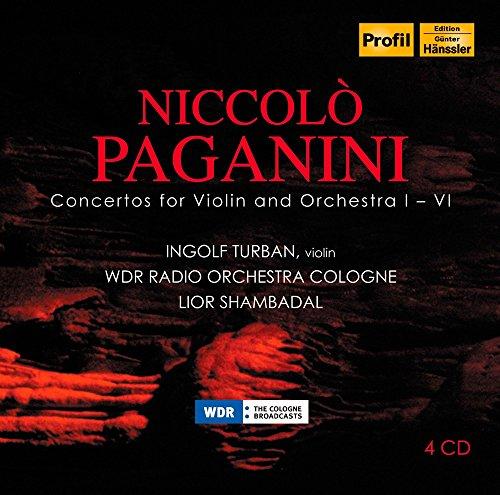 PAGANINI: Violin Concertos (4 CD)