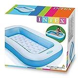 Intex Babypool Planschbecken Kinderpool Rechteck Baby Pool blau 166 x 100 x 28 cm