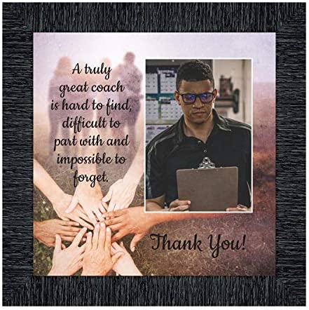 Coach Picture Frame Coach Thank You Gift for Men or Women Coaches Gifts for Basketball Coach product image