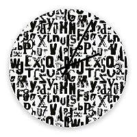 掛け時計 町 文字 落書き 壁掛け時計 掛時計 静音 clock サイレント 壁時計 部屋 リビング 玄関 インテリア コンパクトサイズ 電池式 木掛け鐘 大数字 円形 贈り物 直径 30cm