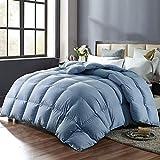 SNOWMAN Luxury White Goose Down Comforter