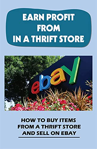 Earn Profit From In A Thrift Store: How To Buy Items From A Thrift Store And Sell On eBay: Finding Items To Make That Will Sell (English Edition)
