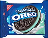 Oreo Mint Creme Oreo Cookie, 15.25-Ounce Package (Pack of 4) by Oreo