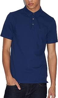 Armani Exchange Men's 8NZF78 Polo Shirt, Blue (Blue Depth 1562), Large