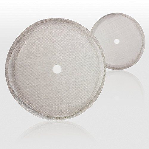 MeelioCafe French Press Filters 12 OZ - Universal Replacement Reusable...