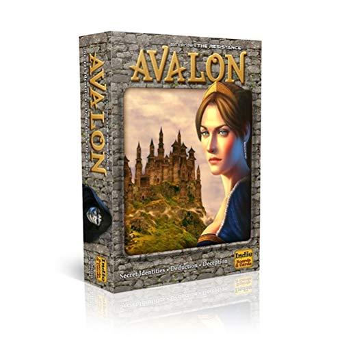 BSTEle Avalon Kartenspiel, Avalon Brettspiel Kinder Interaktives Kartenspiel für Familie Partyspiel
