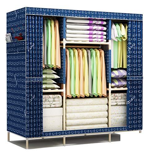 Jian E Armoire de Rangement en Tissu Pliable, Rangement pour vêtements, Grand casier / (Couleur : C)