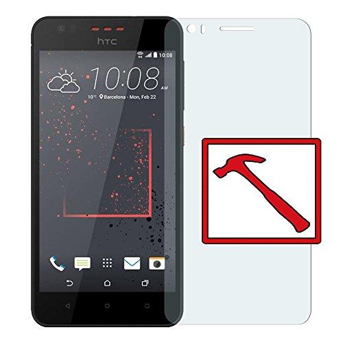 Slabo Premium Panzerglasfolie für HTC Desire 825 Echtglas Bildschirmschutzfolie Schutzfolie Folie Tempered Glass KLAR - 9H Hartglas