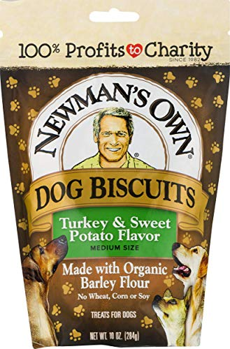 Newman's Own Dog Biscuits, Turkey & Sweet Potato - Breakable, 10-oz. (Pack...