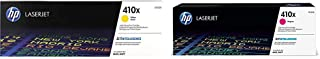 $419 » HP 410X | CF412X | Toner Cartridge | Yellow | High Yield & 410X | CF413X | Toner Cartridge | Magenta | High Yield