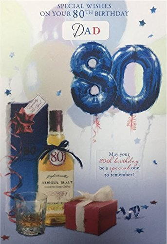 80Th Birthday Card Male Titles Brother-in-Law Uncle Dad Brother Husband...
