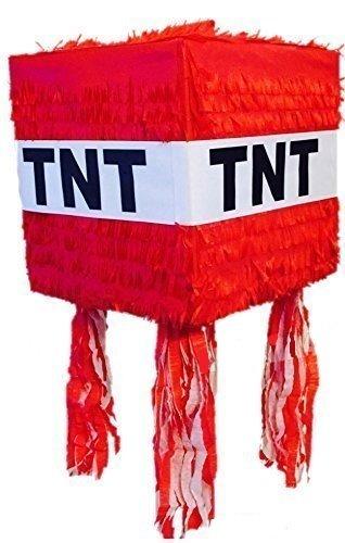 Red TNT custom Pinata