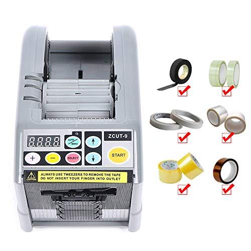 Matobuy テープカッター テープディスペンサー ターンテーブル テープ切断機 電子テープカッター 作業効率UP 自動カット 高速電動テープカッター 自動テープカッター 業務用 (zcut-9)