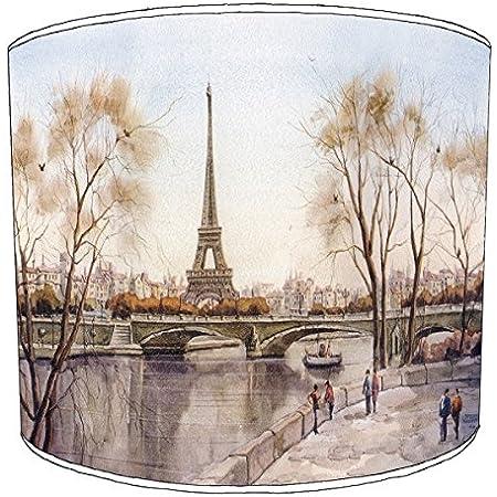 Premier Lighting Ltd 8 inch Paris Abat-jour2 pour Un plafonnier