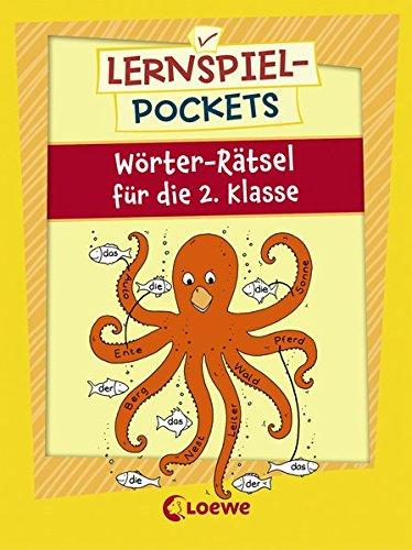 Lernspiel-Pockets - Wörter-Rätsel für die 2. Klasse