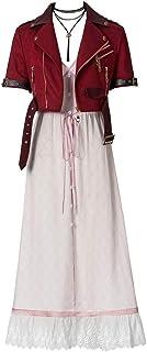 CosplayDiy Women's Dress for Final Fantasy VII Aerith Gainsborough Cosplay Costume