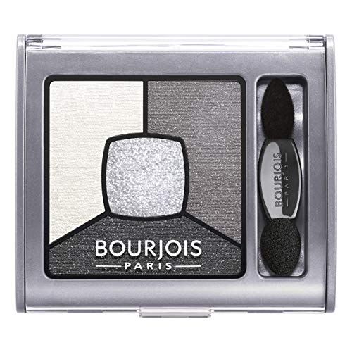 Bourjois Smokey Stories Sombra de ojos Tono 1 Grey & Night, 3.2...