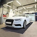 Sszhen Garage Floor Protection Mat,Reusable, Washable, Indoor Parking Mat-Premium Absorbent Oil Pad Contains Liquid (19' x 7'5')
