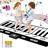 Tappeto Musicale, 24 tasti Tastiera Danza/ 8 impostazioni di strumenti musicali, Piano Playmat...