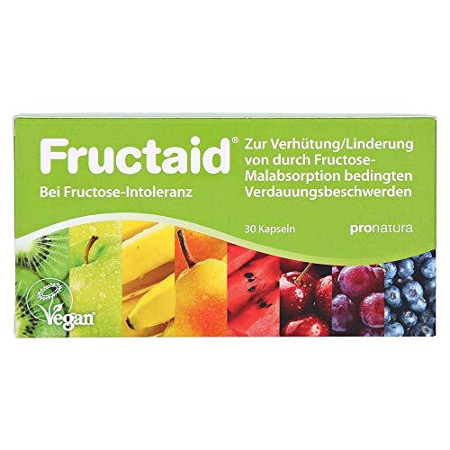 Fructaid Kapseln bei Fructose-Intoleranz, 30 St. Kapseln