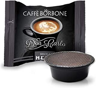 "400 capsules Borbone Don Carlo, zwart, compatibel met ""a modo mio""."