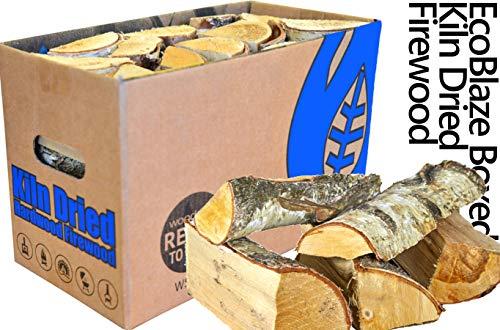 EcoBlaze Ready to Burn Brennholz, getrocknet - Prämie 25 cm Hartholzstämme, getrocknet unter 20{d1eccc022b36a390d78573938309ef6387677736c56ead463e1ec0de98f83c7d} - Kamin, Öfen, Kaminbrenner, offene Feuer, Lagerfeuer, Pizzaöfen & mehr