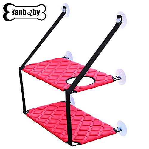 YIAN BABY Pet Products Cat Window Perch Hammock With Upgraded Version 4 Big...