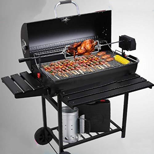 51XnNegbaKL - YDHWT Multi-Funktions-Haushalt Charcoal Grill Villa Außenhof Großer Grill 5 oder mehr Smoked amerikanischer BBQ Grill