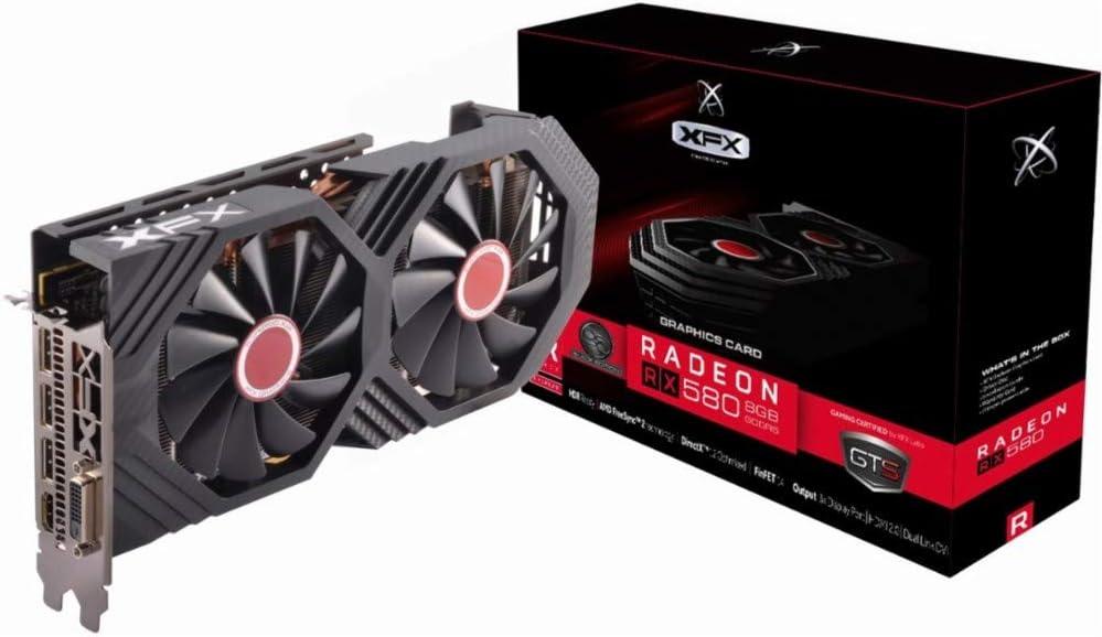 XFX - AMD Radeon RX 580 GTS Black Edition 8GB GDDR5 PCI Express 3.0 Graphics  Card - Black : Amazon.com.mx: Electrónicos